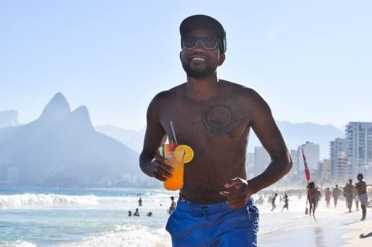 Caipirinha na Praia de Ipanema