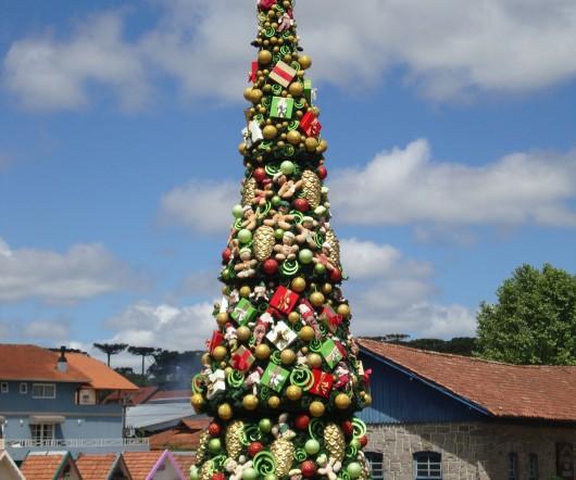 Árvore de Natal - Canela - RS