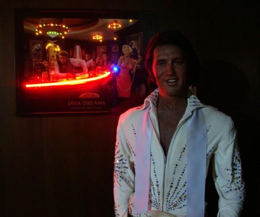 Elvis Presley - Museu de Cera Dreamland - Canela - RS