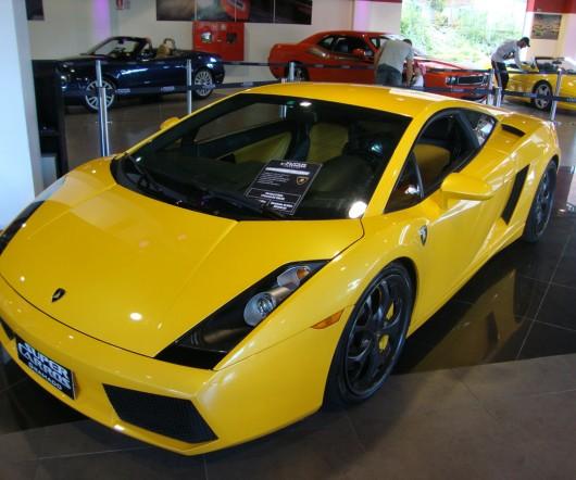 Lamborghini - Supercarros - Gramado - RS