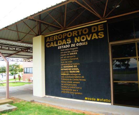 Aeroporto de Caldas Novas - GO
