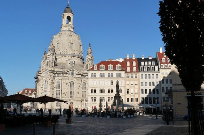 Praça de Praga na República Tcheca