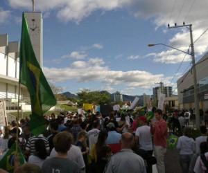 Brasil protestos