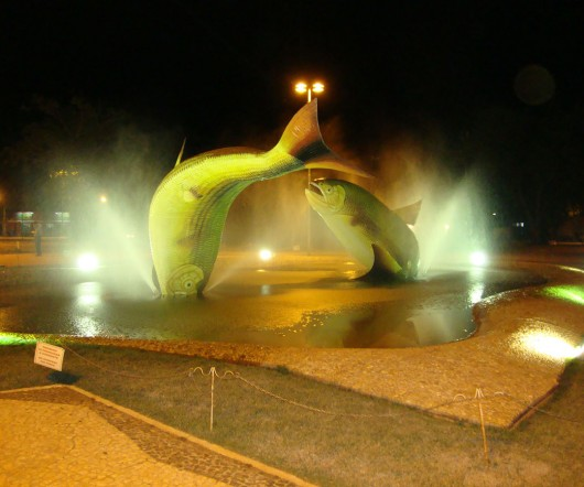 Praça do centro - Bonito - MS