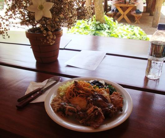 Almoço no Rio da Prata