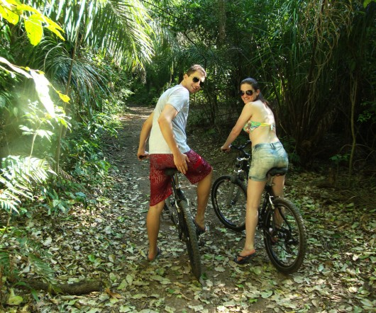 Passeio de bike - Rio Sucuri