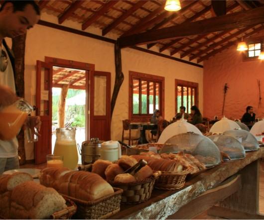 Café da manhã - Hotel Cabanas