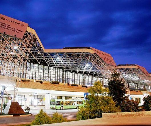 Aeroporto de Sochi - Rússia