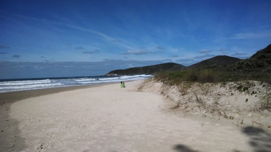 Sul da Praia do Rosa - SC