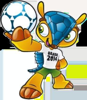 Fuleco - Mascote da Copa do Mundo no Brasil