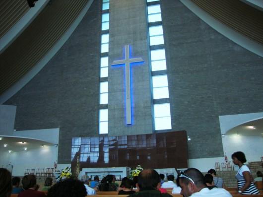 Missa em Nova Trento