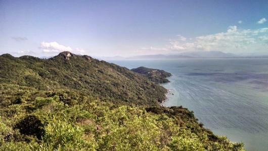 Foto trilha Morro do Macaco