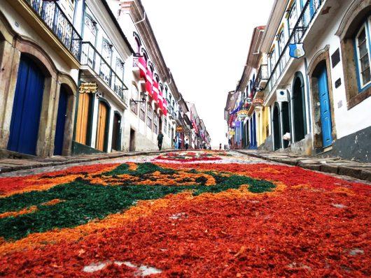 Corpus Christi em Ouro Preto - MG
