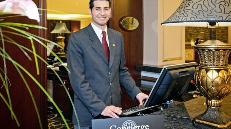 Concierge de hotel - Profissão turismo