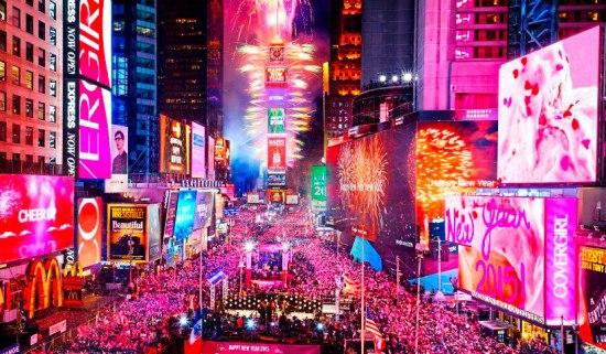 Réveillon nos EUA 2017 - Réveillon em Nova Iorque