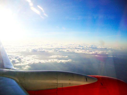 Viagem de avião - Fortaleza - CE