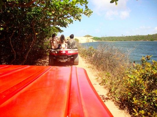Passeio de buggy Praia de Lagoinha
