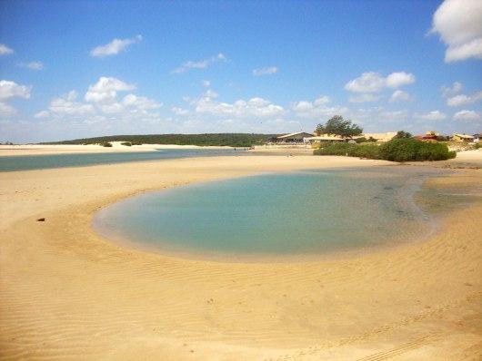 Paisagem Praia de Águas Belas - CE