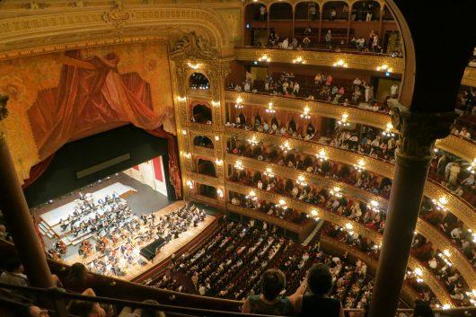 Palco do Teatro Colón