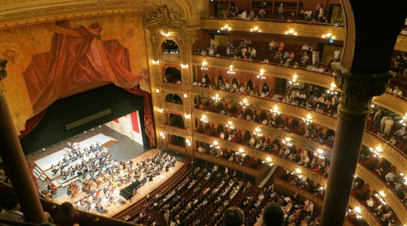 Palco do Teatro Colón