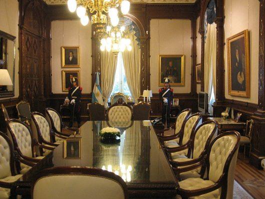 Despacho presidencial - Casa Rosada - Buenos Aires