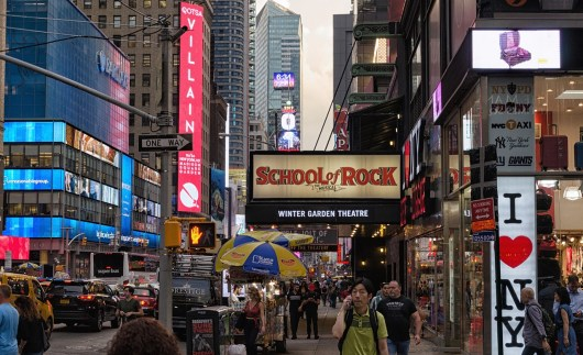 Ingressos shows da Broadway 2019