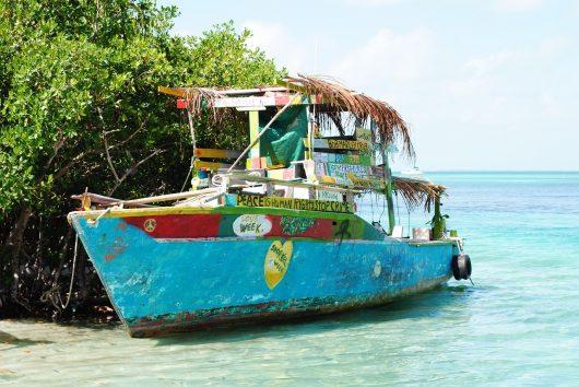 Viagem para Belize - Caye Caulker