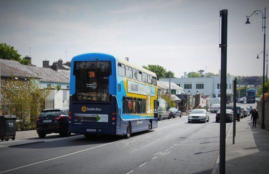 Dún Laoghaire - Transporte público