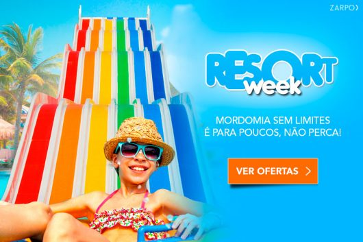 Promoção Resort Week 2018 Zarpo