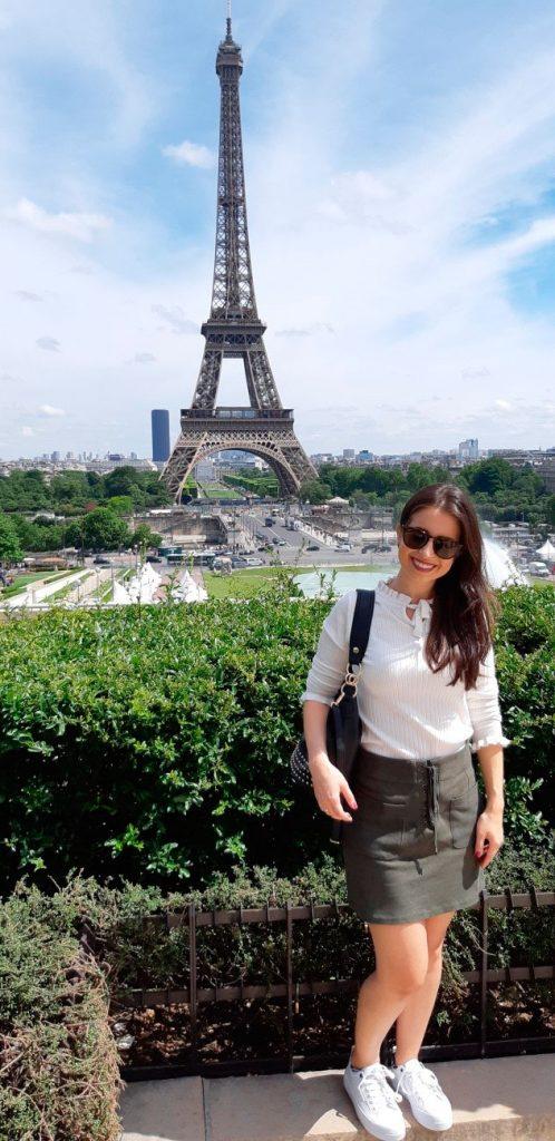 Torre Eiffel - Vista Trocadéro