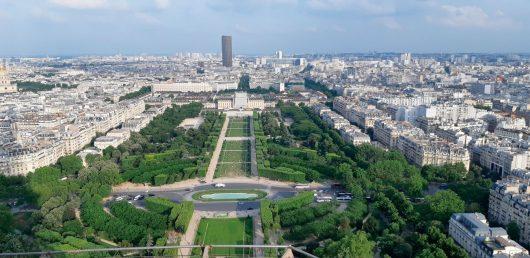 Vista da Torre Eiffel