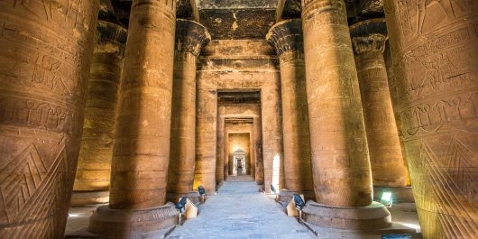 Templo de Edfu Aswan - Egito