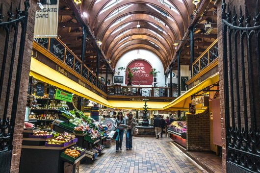 Cork English Market - IMAGE SOURCE: 'The English Market' - William Murphy, via Flickr (CC BY-SA 2.0)