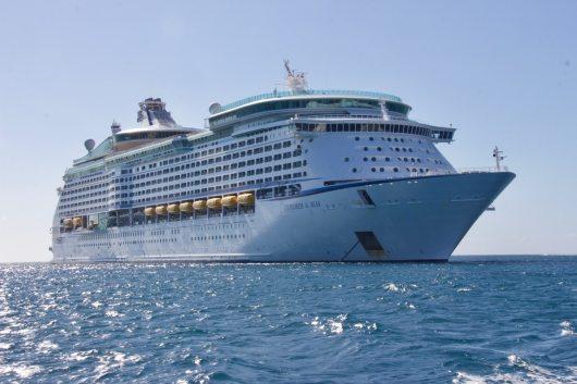 Férias em cruzeiro de navio
