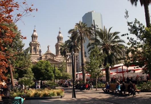 Férias de julho em Santiago no Chile