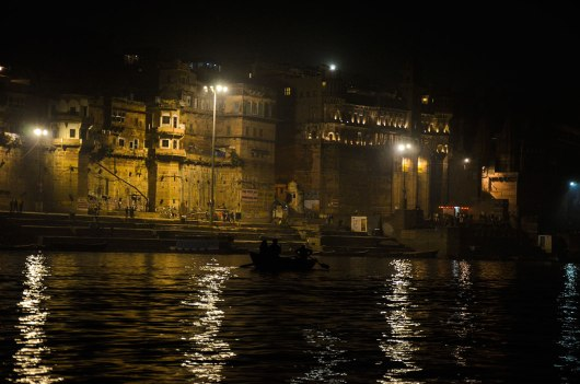 Barcos no Rio Ganges
