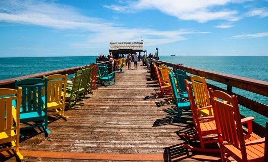Praia de Cocoa Beach