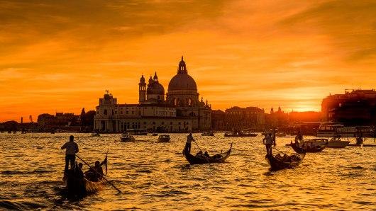 Gôndolas de Veneza - Itália