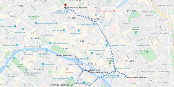 Segundo dia em Paris