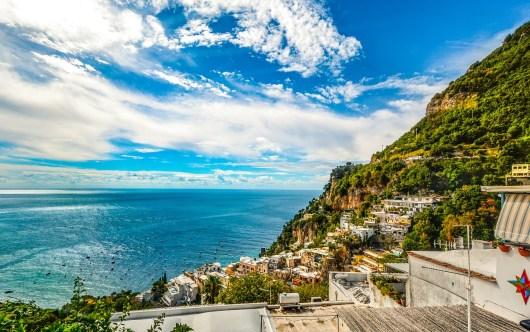 A Costa Amalfitana é realmente espetacular