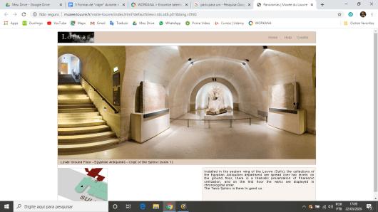 Tour virtual pelo Louvre com dicas e informações das obras
