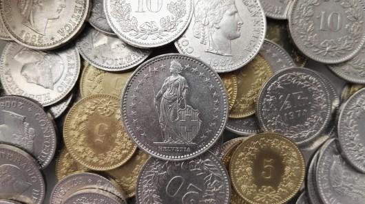 Franco suíço é a moeda da Suíça