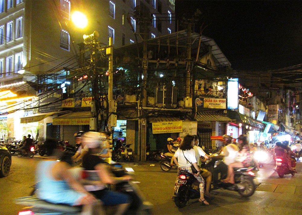 Tráfico ordenado en Vietnam