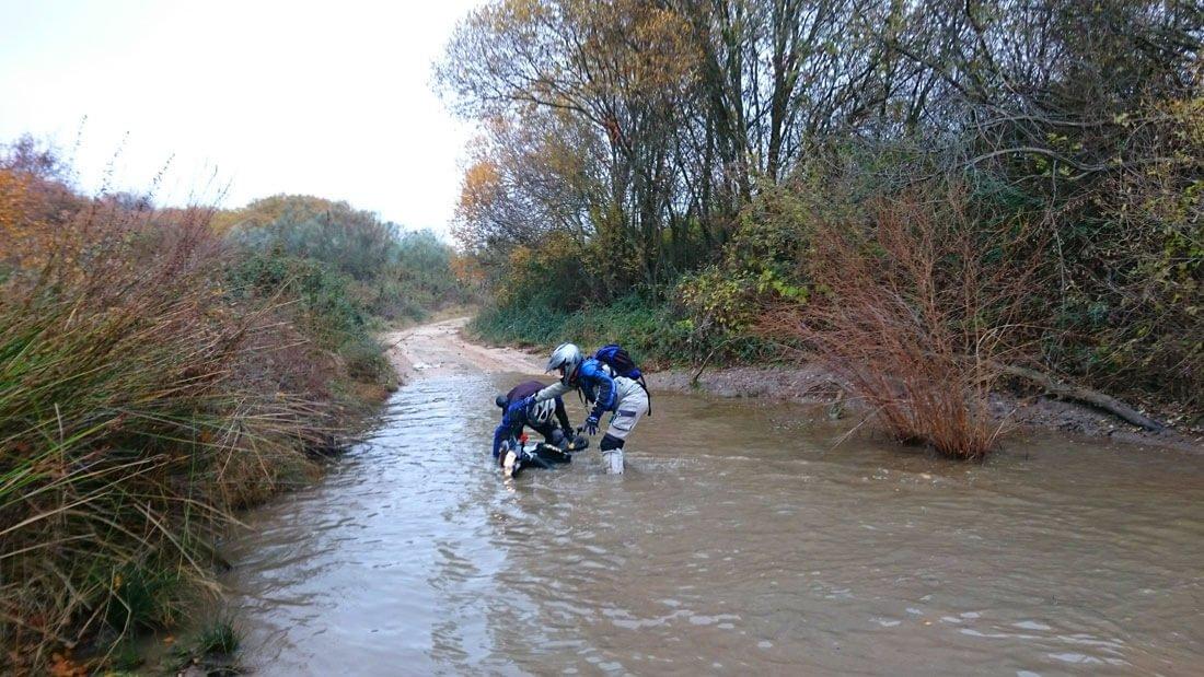 Moto al agua - klr 650