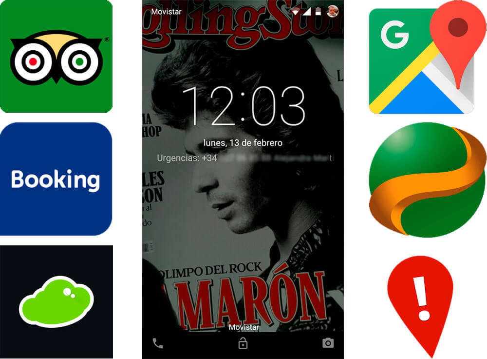 Apps para viajeros y emergencias