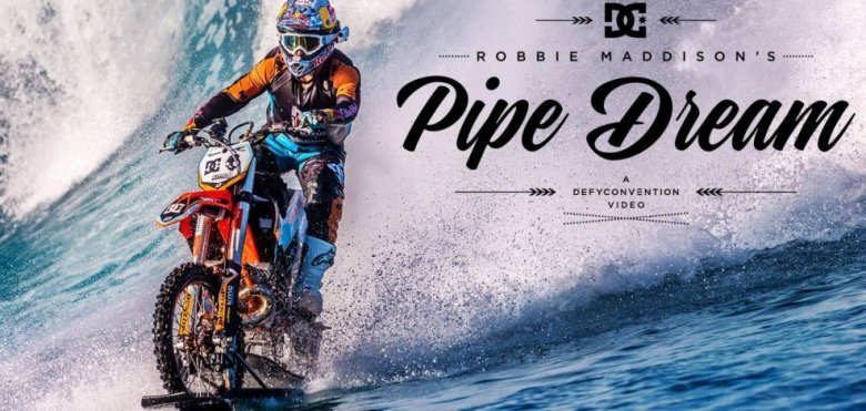 Vídeo de robbie maddison: pipe dream