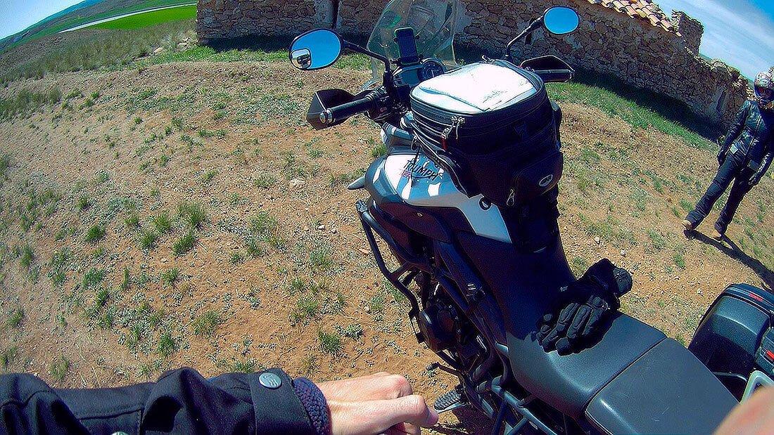 botiquín para viaje en moto