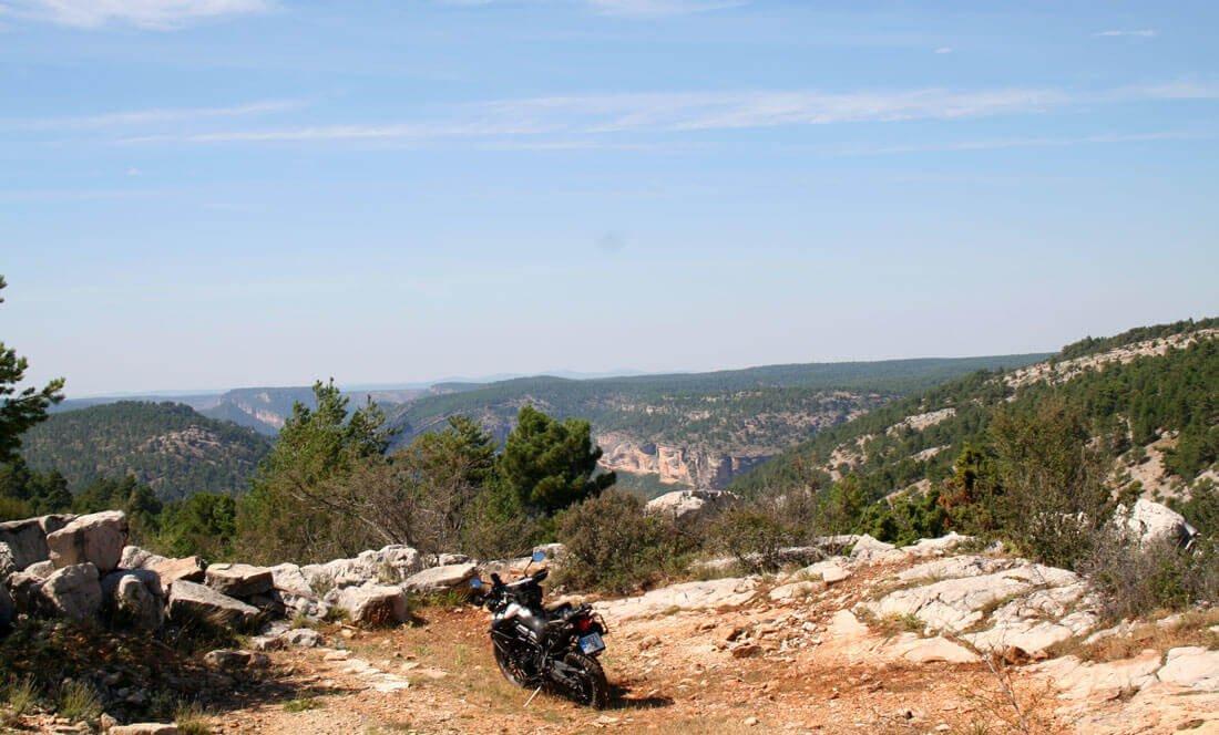 Paisaje de la serranía de Cuenca
