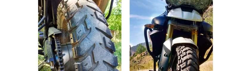 Neumáticos Heidenau K60 Scout en Triumph Tiger 800