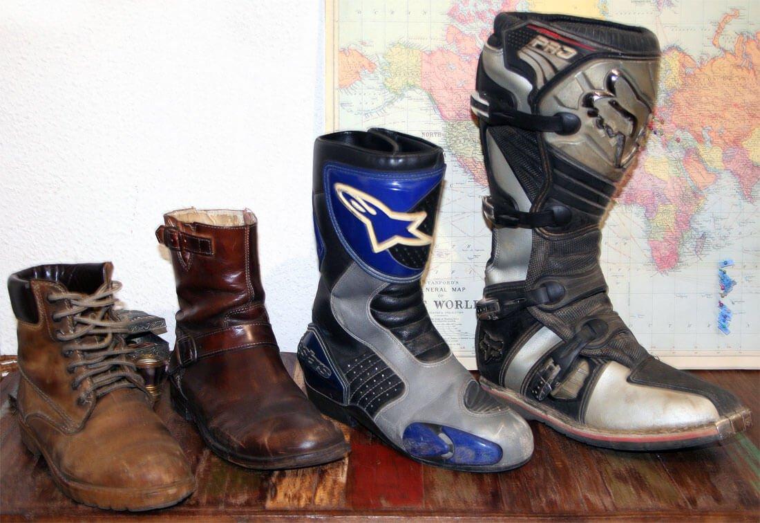 Frío en moto, las botas